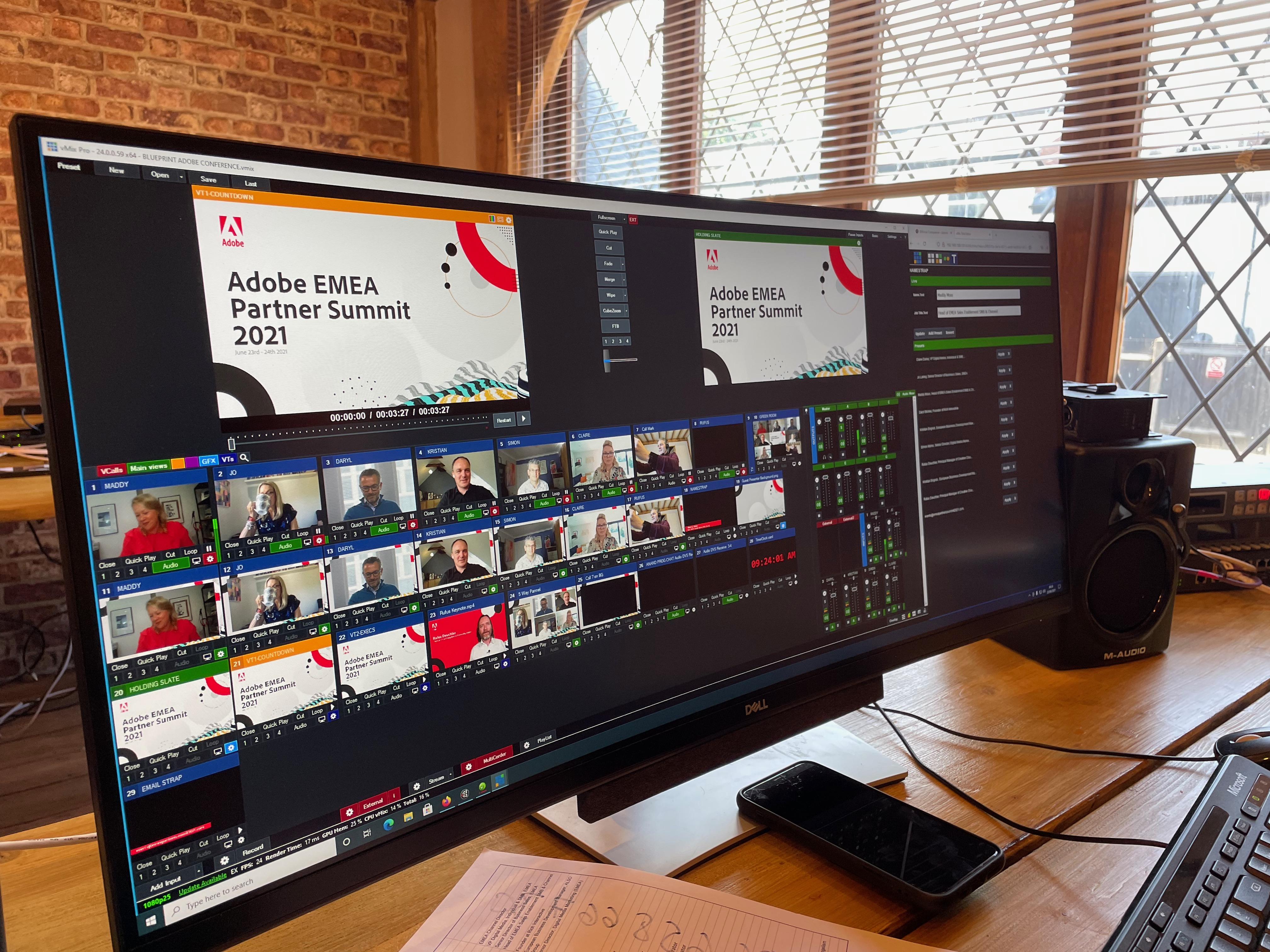 Adobe Partner Summit in action